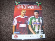 Fleetwood Town v Newport County, 2010/11